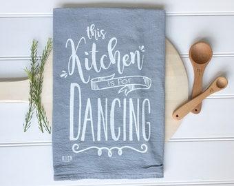 Tea Towel -  Grey Kitchen Towel Home Sweet Home Tea Towel Grey Tea Towel Housewarming Gift Home Decor Kitchen Gift Kitchen Decor Farmhouse