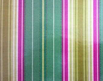 One Yard Cut of New LAMINATED Fabric, Cotton, Freshcut by Heather Bailey for Free Spirit, Westminster Fibers, Coated Cotton Fabric, Raincoat