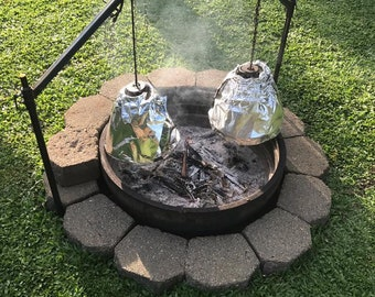BELL OVEN KIT, Complete Outdoor Cooking System for Baking, Roasting and Smoking