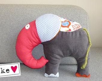 Elke of the stuffed elephant