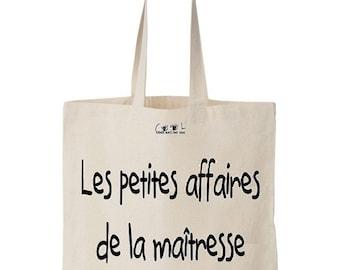 Tote Bag Les petites affaires de la Maîtresse