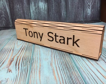Gift For Boss,Gifts For Dad,Farmhouse Decorating,Name Signs For Doors,Teacher Gifts 2017,Coworker Funny Gift,Desk Organizer,Gifts For Lady B