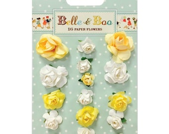 Belle & Boo Paper Flowers