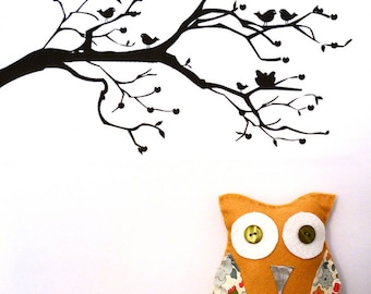 For a stuffed OWL sewing kit!