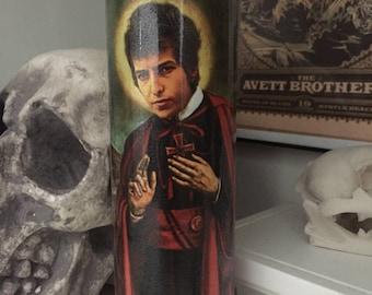 St Bob Dylan Prayer Candle