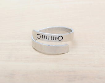Jeep Grill Ring - Hand Stamped - Jeep Jewelry - Jeep Girl - Jeep - Jeep Ring