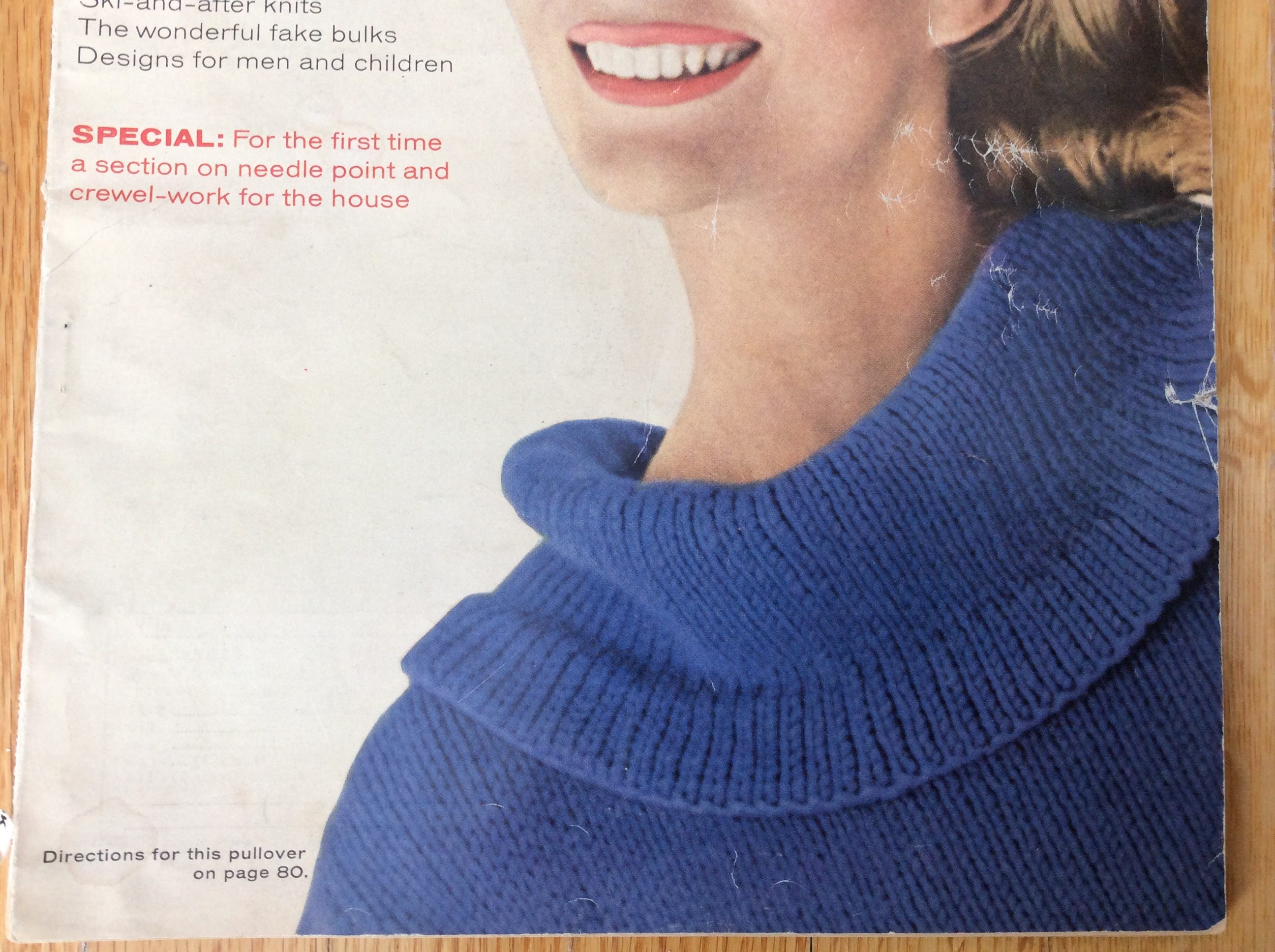 Vogue Knitting Book Magazine Fall-Winter 1963 Knitting Patterns ...