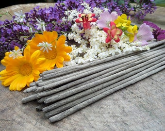 Wild Flowers Incense Sticks  | Absolute Grade | 100% Natural Incense | Traditional Indian Incense | Hand Rolled With Essential Oils