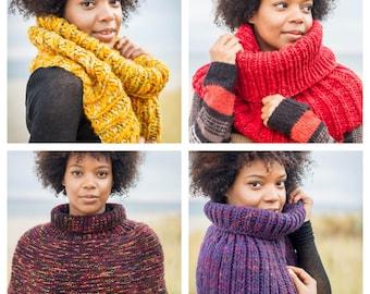 Custom Design Knit Scarf Cowl - 1st Tier