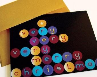 Very, Very, Very Merry Christmas - card set of 8