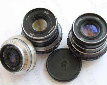 INDUSTAR 50 3.5/50 mm, Industar-61 LD 53mm f2.8 M39, Industar-61 LD 52mm f2.8