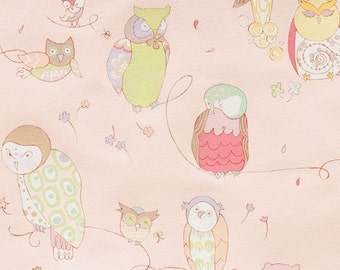 Alexander Henry • Rita Floral • Spotted Owl Pale Pink  • Cotton Fabric 0.54yd (0,5m)