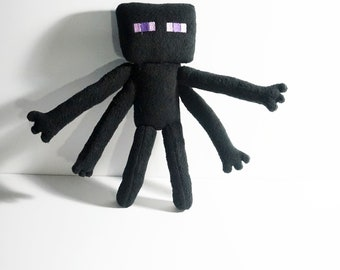 Enderman Plush Inspired by Minecraft (Unofficial)