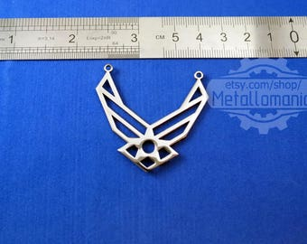 United states airforce wings necklace us air force wings necklace jewelry logo pendant emblem charm symbol sign amulet talisman personalized united states military usaf wife aloadofball Choice Image