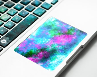 Frozen Macbook trackpad decal Touchpad Sticker with frozen stardust, nebulae, galaxy, starfield for Apple Macbook Pro, Pro Retina # Frozen