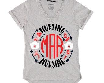 Nurse ,Nurse shirt ,nurse life,nursing ,nursing design ,medical ,nurse svg ,silhouette and cricut design