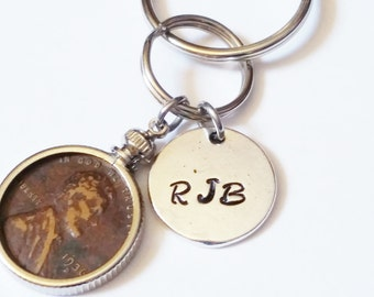 ADD-A-CHARM - Hand Stamped Personalized Round Disc 4 sizes - Listing is for ONE