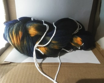 100% Peruvian wool yarn. ''tiger''