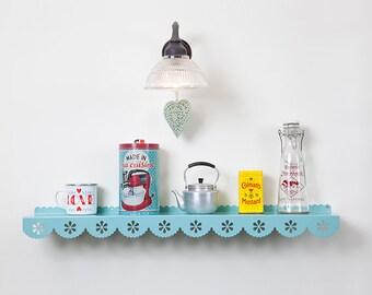 Large Wall shelf, Shelf Decor, metal shelf, Floating shelf, display shelf, Kids shelves, Kids room decor, storage shelf, lace shelf