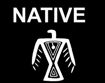Indigenous Ojibwe Native American Print Digital Poster