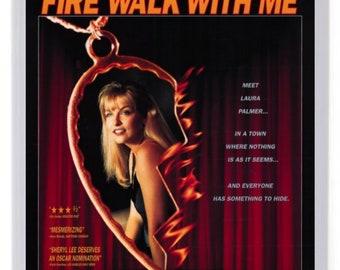 Fire Walk With Me Fridge Magnet. Film Poster Art. Twin Peaks