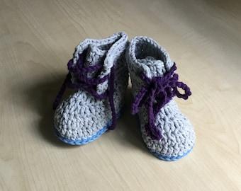 Crochet PATTERN Spring Baby Boot & Hat Set N 271