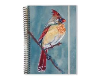 2018 Planner  | Aquila Watercolor | 2018-2019 Monthly Planner | Personalized Planner | Yearly Planner