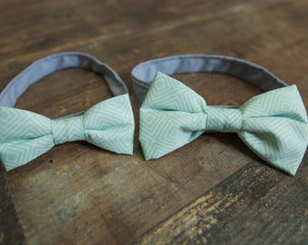 Father and son Duo bowties