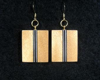 Yellowheart Laminated Earrings