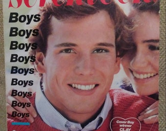 SEVENTEEN Magazine February 1983 Cover Boy Clay Tucker LOVERBOY