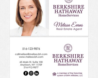 Berkshire hathaway etsy berkshire hathaway real estate business cards thick color both sides free ups ground colourmoves