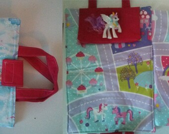 Take-along Pony Mat