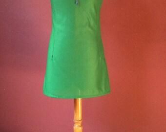 1970s Emerald Green Dress
