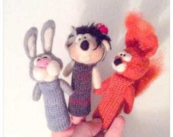 3 fingers puppet