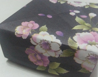 Origami Masu Boxes - Lovely Floral series (Traditional Japanese Washi pattern) - III