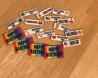 Calendar Magnets - Holiday Set