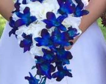 Blue orchid wedding package