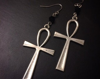 Crux Ansata Earrings Ankh Earrings