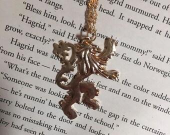Gryffindor Lion Necklace