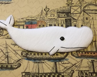 White Whale Necklace