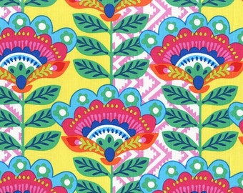 Fiesta Collection from Michael Miller, Ernesta in Blue, Yard
