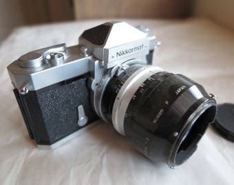 Nikkormat FT 35mm Film Camera