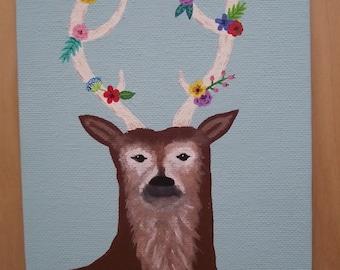 Springtime Deer