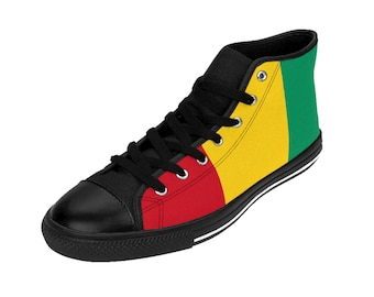 Rasta Womens High-top Sneakers RLW1937
