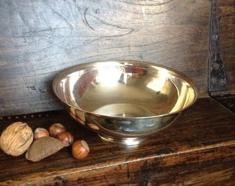 Timeless Old Hall silver plated bowl / anniversary gift / vintage silverware/ silver wedding gift