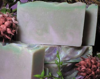 Elfin Grove - Handcrafted Soap, Natural Oils, Phthalate Free, Blackberry, Fig, Forest Berries, Elves, Fairies, Magic, Fantasy, Gothic