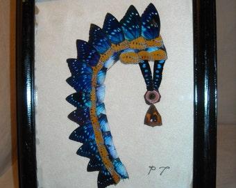 Butterfly Wing Art Indian Headdress