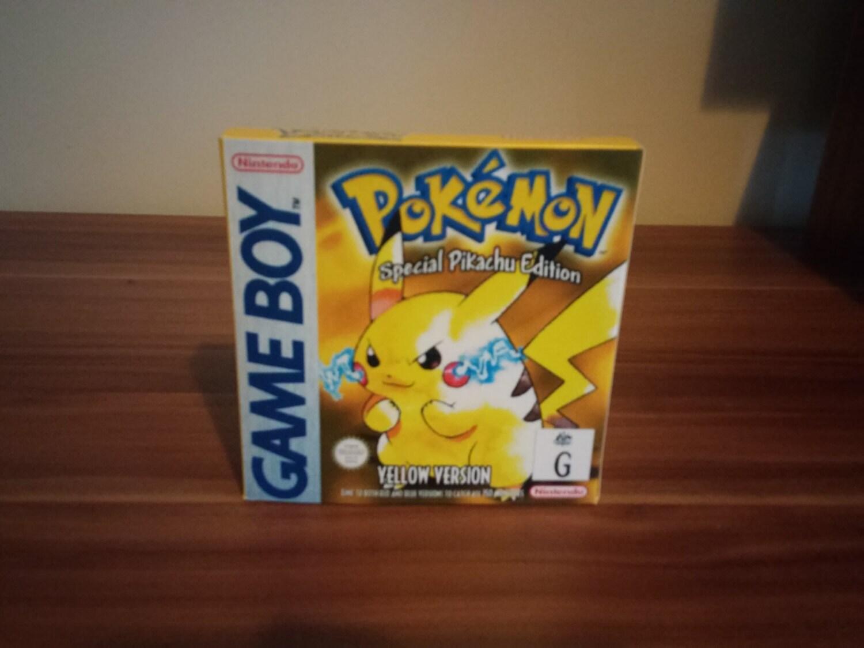 Juego Ni O Pokemon Amarillo Caja Repro Con El Parte Movible # Comprar Muebles Pokemon Esmeralda