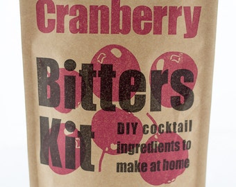 DIY Cocktail Bitters Kit (Cranberry)