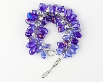 Bracelet grand cristal naturel